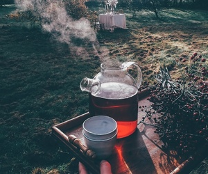 drink, tea, and warm image