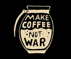 coffee, motivational, and thought image