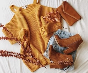 fashion, autumn, and boots image