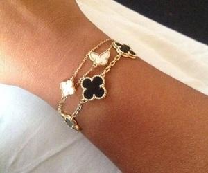 Alhambra, bracelet, and designer image
