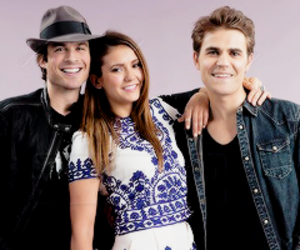 tvd, the vampire diaries, and delena image