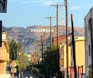 california, hollywood, and los angeles image
