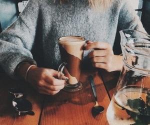 coffee, autumn, and zoella image