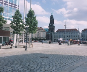 architecture, architektur, and dresden image