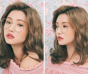 korean, asian, and makeup image