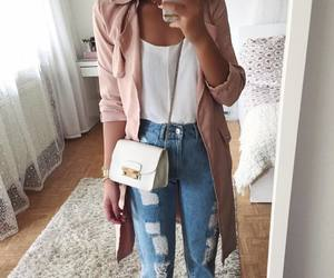 fashion, girl, and outfit of the day image