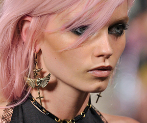 model, hair, and Abbey Lee Kershaw image