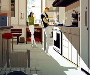 art, cocina, and cooking image