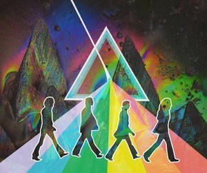 beatles, Pink Floyd, and music image