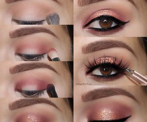 beauty, eye, and goals image