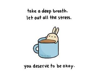bunny, stress, and okay image