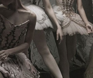 aesthetic, dark, and ballet image