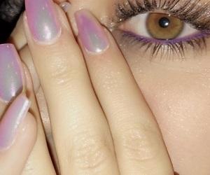 aesthetic, eyes, and girl image