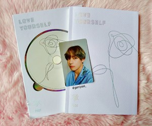 her, bts, and taehyung image