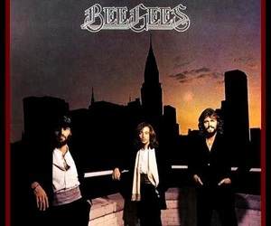 album, bee gees, and cover image
