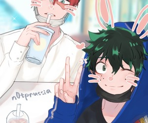 boku no hero academia, tododeku, and my hero academia image