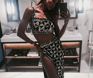fashion, model, and jasmine tookes image