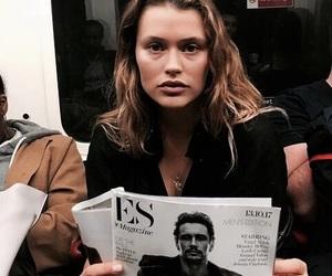 fashion, girl, and magazine image