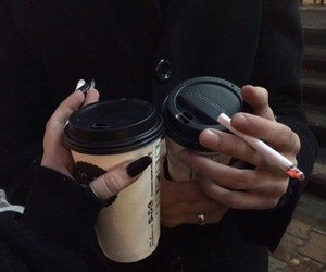 coffee, indie, and nails image