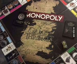 game of thrones, game, and monopoly image