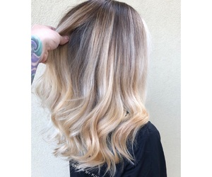 beauty, ombre, and hair image