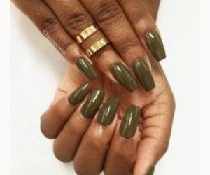 inspiration, nail color, and nails image