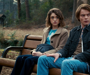 stranger things, Nancy, and charlie heaton image