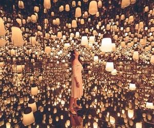 girl, light, and beautiful image