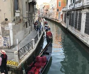 beautiful, gondola, and wow image