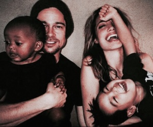Angelina Jolie, theme, and angelina and brad image