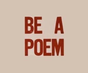 header, poem, and red image