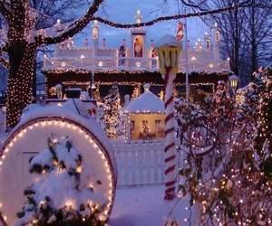 christmas, beautiful, and lights image