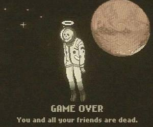 dead, game over, and grunge image