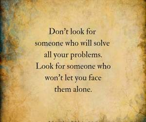 look, problem, and quote image