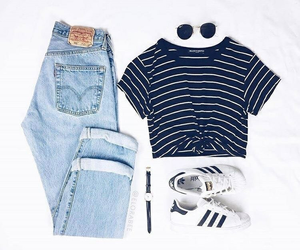 outfit, oufits, and jeans image