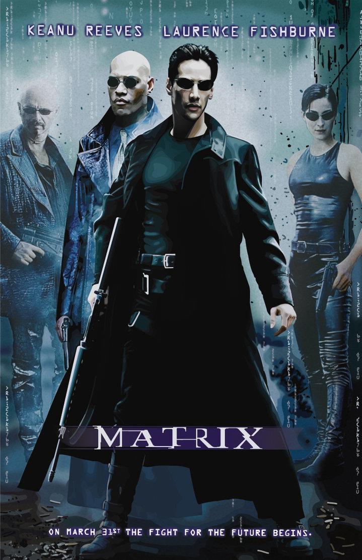 1999, keanu reeves, and matrix image
