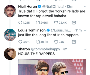 funny, 1d, and niall horan image