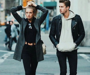 couple, fashion, and chic image