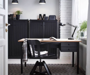 desk, furniture, and office image