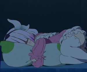 anime, maid dragon, and girl image