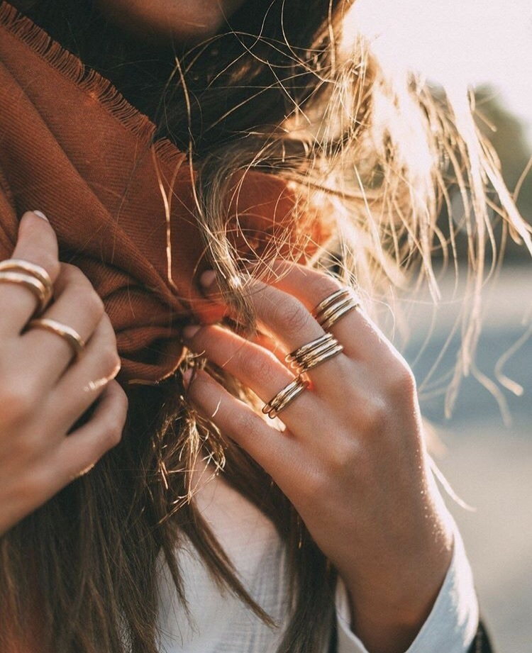 autumn, jewelry, and rings image