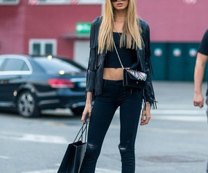 street style, model, and romee strijd image