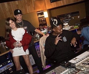 halsey, couple, and studio image