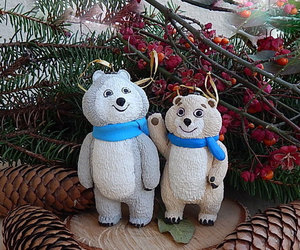 christmas ornaments, etsy, and christmas ideas image
