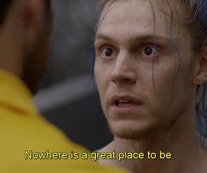 subtitles, evan peters, and ahs image