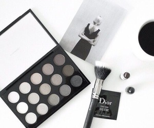 makeup, dior, and girly image