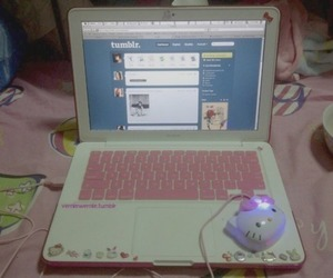 hello kitty, tumblr, and pink image