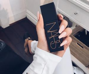 nars, nails, and makeup image
