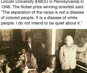 Albert Einstein, divided, and history image