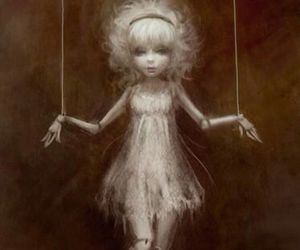 art, quotes, and voodoo doll image